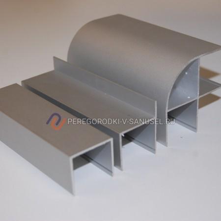 Алюминиевый профиль 25мм: доставка в Казани │ Сантехнические перегородки