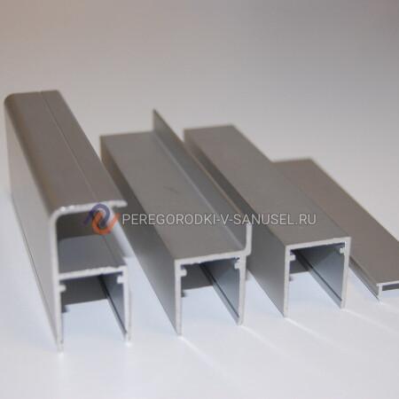 Алюминиевый профиль 16мм: доставка в Екатеринбурге │ Сантехнические перегородки