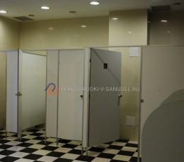 Схемы установки сантехнических перегородок