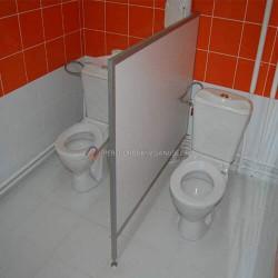 Детские сантехнические перегородки в туалет: по низкой цене в Москве