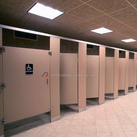 Туалетные перегородки для МПГН: доставка в Краснодаре │ Сантехнические перегородки