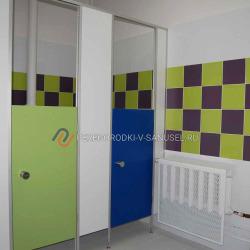 Детские перегородки (прямые двери)