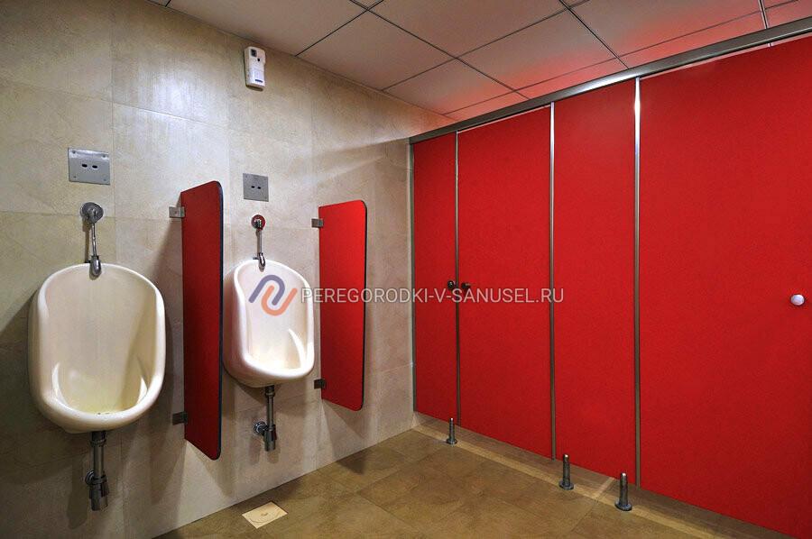 Пластиковые перегородки для туалетов и писсуаров
